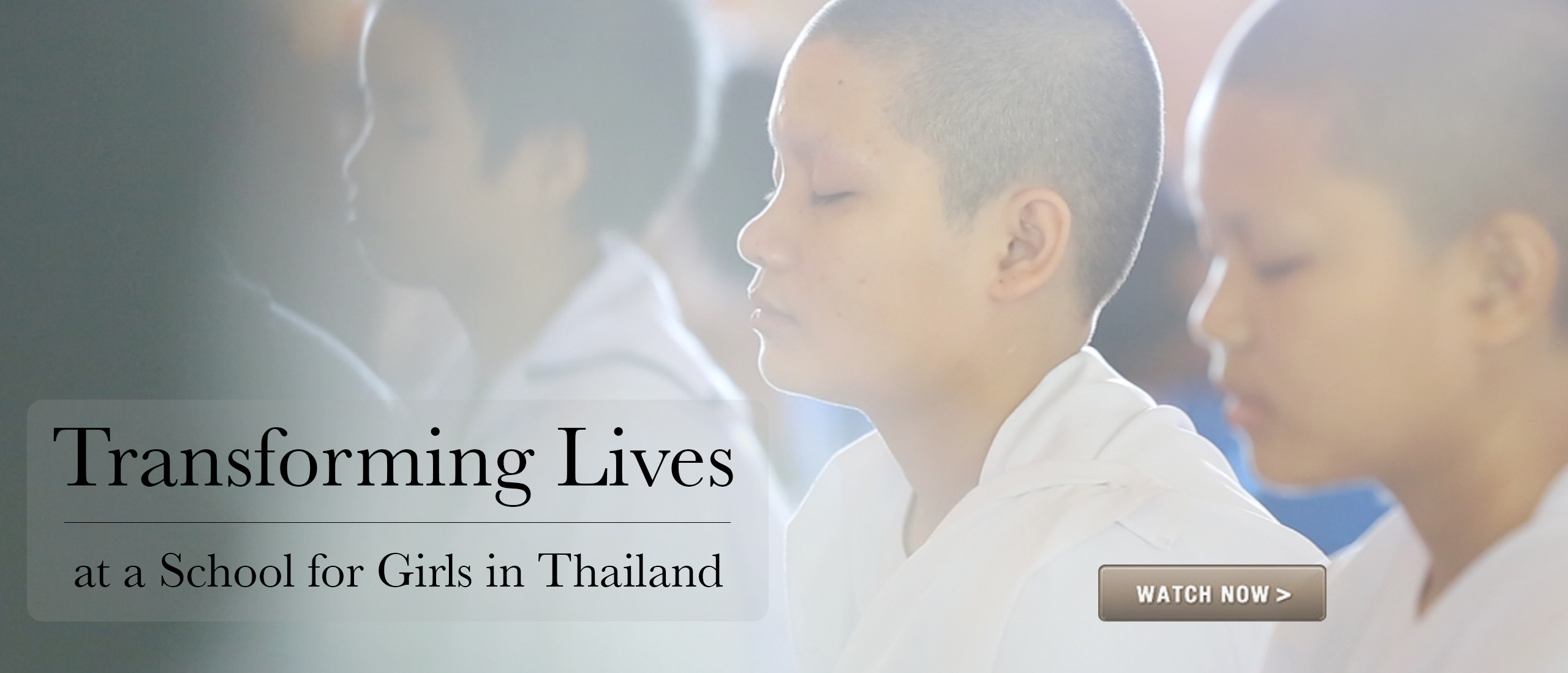 Transforming Lives At A Girls School In Thailand